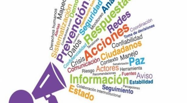 Guía de alerta temprana para prevenir y resolver conflictos sociales OEA - PNUD. Imagen Miniatura